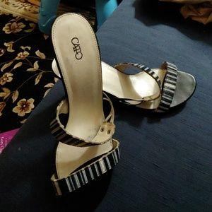 Cato slip on heel (slide)